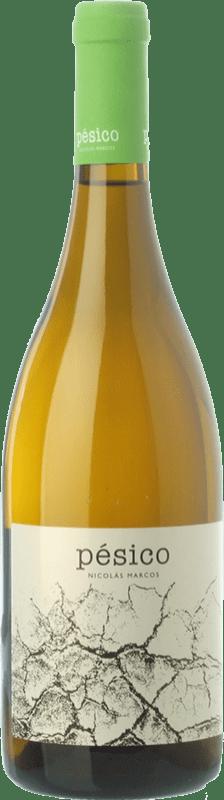 24,95 € Envoi gratuit | Vin blanc Dominio del Urogallo Pésico Crianza Espagne Albarín Bouteille 75 cl
