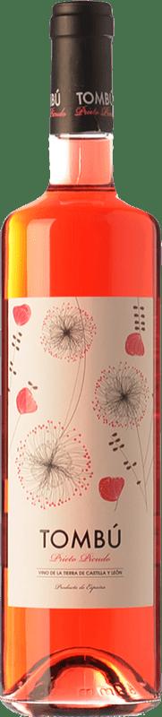 9,95 € Free Shipping | Rosé wine Dominio DosTares Tombú I.G.P. Vino de la Tierra de Castilla y León Castilla y León Spain Prieto Picudo Bottle 75 cl