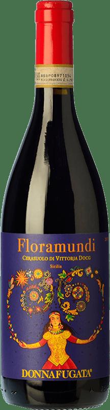 14,95 € Free Shipping   Red wine Donnafugata Floramundi D.O.C.G. Cerasuolo di Vittoria Sicily Italy Nero d'Avola, Frappato Bottle 75 cl