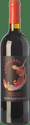 13,95 € Free Shipping | Red wine Donnafugata Sherazade I.G.T. Terre Siciliane Sicily Italy Nero d'Avola Bottle 75 cl
