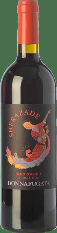 12,95 € Free Shipping   Red wine Donnafugata Sherazade I.G.T. Terre Siciliane Sicily Italy Nero d'Avola Bottle 75 cl