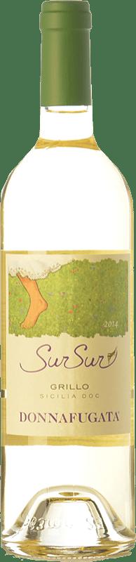 12,95 € Free Shipping   White wine Donnafugata SurSur I.G.T. Terre Siciliane Sicily Italy Grillo Bottle 75 cl