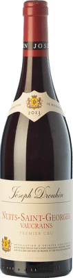 87,95 € Free Shipping | Red wine Drouhin Vaucrains Crianza A.O.C. Nuits-Saint-Georges Burgundy France Pinot Black Bottle 75 cl