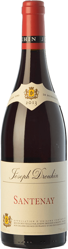 29,95 € Free Shipping | Red wine Drouhin Crianza A.O.C. Santenay Burgundy France Pinot Black Bottle 75 cl