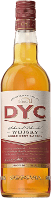 9,95 € Kostenloser Versand | Whiskey Blended DYC Selected Whisky Spanien Flasche 70 cl