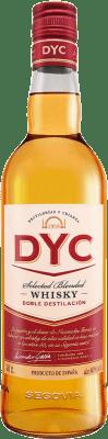 9,95 € Envío gratis | Whisky Blended DYC Selected Whisky España Botella 70 cl