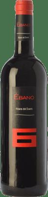11,95 € Free Shipping | Red wine Ébano 6 Joven D.O. Ribera del Duero Castilla y León Spain Tempranillo Bottle 75 cl
