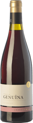 32,95 € Kostenloser Versand | Rotwein Edetària Finca La Genuïna Crianza D.O. Terra Alta Katalonien Spanien Grenache Flasche 75 cl