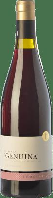 32,95 € Envío gratis | Vino tinto Edetària Finca La Genuïna Crianza D.O. Terra Alta Cataluña España Garnacha Botella 75 cl