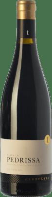 42,95 € Envío gratis | Vino tinto Edetària Finca La Pedrissa Crianza D.O. Terra Alta Cataluña España Cariñena Botella 75 cl