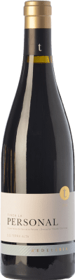44,95 € Envío gratis | Vino tinto Edetària Finca La Personal Crianza D.O. Terra Alta Cataluña España Garnacha Peluda Botella 75 cl
