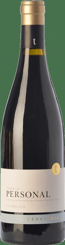 45,95 € Free Shipping | Red wine Edetària Finca La Personal Crianza D.O. Terra Alta Catalonia Spain Grenache Hairy Bottle 75 cl