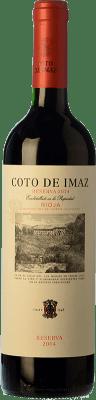 7,95 € Envoi gratuit | Vin rouge Coto de Rioja Coto de Imaz Reserva D.O.Ca. Rioja La Rioja Espagne Tempranillo Demi Bouteille 50 cl