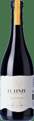 22,95 € Free Shipping | Red wine El Linze Joven I.G.P. Vino de la Tierra de Castilla Castilla la Mancha Spain Syrah, Tinto Velasco Bottle 75 cl