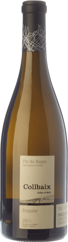 29,95 € Free Shipping | White wine El Molí Collbaix Singular Blanc D.O. Pla de Bages Catalonia Spain Macabeo, Picapoll Bottle 75 cl