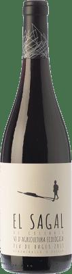 8,95 € Envío gratis | Vino tinto El Molí El Sagal de Collbaix Joven D.O. Pla de Bages Cataluña España Merlot, Cabernet Franc Botella 75 cl