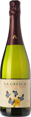 9,95 € Free Shipping | White sparkling El Paseante La Gresca Brut D.O. Cava Catalonia Spain Macabeo, Xarel·lo, Parellada Bottle 75 cl. | Thousands of wine lovers trust us to get the best price guarantee, free shipping always and hassle-free shopping and returns.
