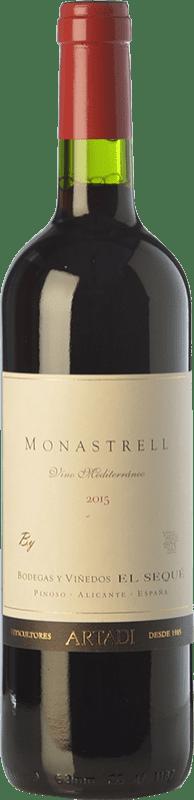 9,95 € Free Shipping | Red wine El Sequé Monastrell Joven D.O. Alicante Valencian Community Spain Syrah, Monastrell Bottle 75 cl