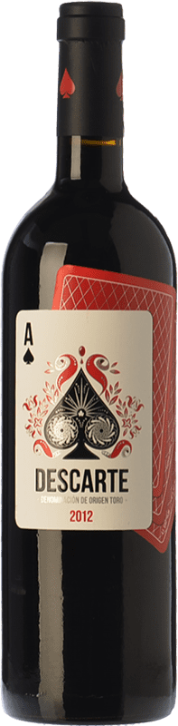 24,95 € Envoi gratuit | Vin rouge Elías Mora Descarte Crianza D.O. Toro Castille et Leon Espagne Tinta de Toro Bouteille 75 cl