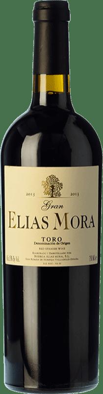 37,95 € Envío gratis | Vino tinto Elías Mora Gran Elías Mora Crianza D.O. Toro Castilla y León España Tinta de Toro Botella 75 cl