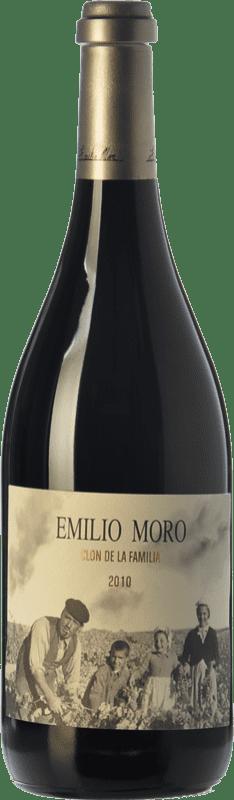 299,95 € Free Shipping | Red wine Emilio Moro Clon de la Familia Reserva 2010 D.O. Ribera del Duero Castilla y León Spain Tempranillo Bottle 75 cl