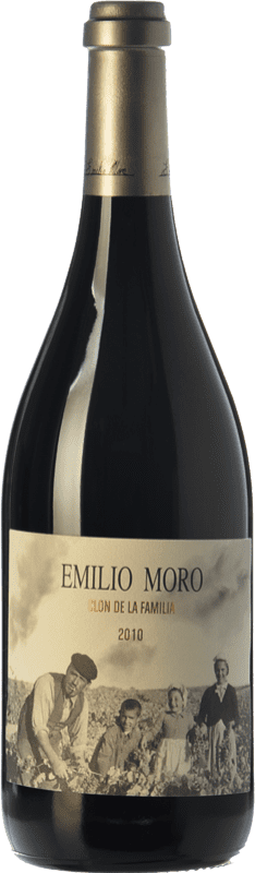 299,95 € Envío gratis | Vino tinto Emilio Moro Clon de la Familia Reserva 2010 D.O. Ribera del Duero Castilla y León España Tempranillo Botella 75 cl