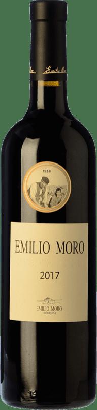17,95 € Envío gratis | Vino tinto Emilio Moro Crianza D.O. Ribera del Duero Castilla y León España Tempranillo Botella 75 cl