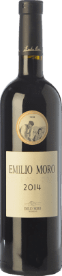 85,95 € Envío gratis | Vino tinto Emilio Moro Crianza D.O. Ribera del Duero Castilla y León España Tempranillo Botella Jéroboam-Doble Mágnum 3 L
