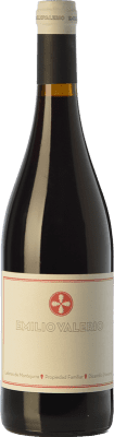 9,95 € Free Shipping | Red wine Emilio Valerio Joven D.O. Navarra Navarre Spain Tempranillo, Merlot, Grenache, Cabernet Sauvignon, Graciano Bottle 75 cl
