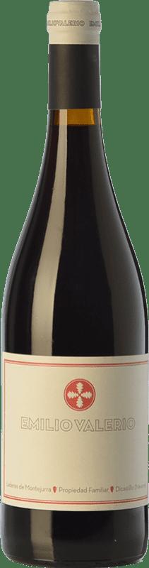 8,95 € Free Shipping   Red wine Emilio Valerio Joven D.O. Navarra Navarre Spain Tempranillo, Merlot, Grenache, Cabernet Sauvignon, Graciano Bottle 75 cl