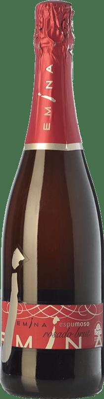 7,95 € Free Shipping | Rosé sparkling Emina Brut I.G.P. Vino de la Tierra de Castilla y León Castilla y León Spain Tempranillo Bottle 75 cl