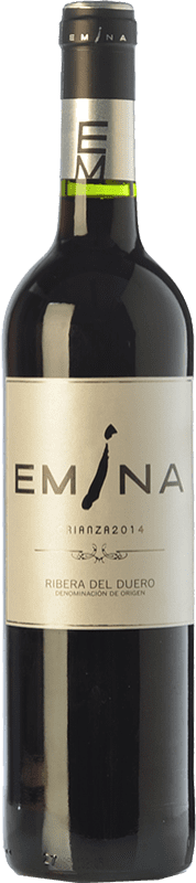 17,95 € Free Shipping | Red wine Emina Crianza D.O. Ribera del Duero Castilla y León Spain Tempranillo Bottle 75 cl