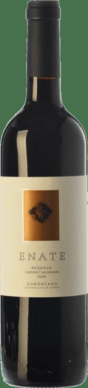14,95 € Envío gratis | Vino tinto Enate Reserva D.O. Somontano Aragón España Cabernet Sauvignon Botella 75 cl