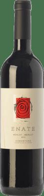 19,95 € Envío gratis | Vino tinto Enate Crianza D.O. Somontano Aragón España Merlot Botella 75 cl