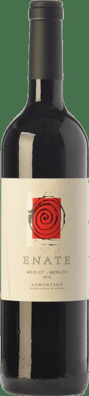 19,95 € Envoi gratuit | Vin rouge Enate Crianza D.O. Somontano Aragon Espagne Merlot Bouteille 75 cl