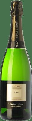 26,95 € Free Shipping | White sparkling Enrico Serafino Zero D.O.C. Alta Langa Piemonte Italy Pinot Black, Chardonnay Bottle 75 cl