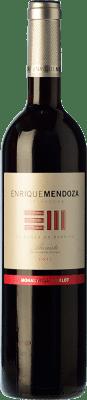 17,95 € Envoi gratuit | Vin rouge Enrique Mendoza Merlot-Monastrell Crianza D.O. Alicante Communauté valencienne Espagne Merlot, Monastrell Bouteille 75 cl