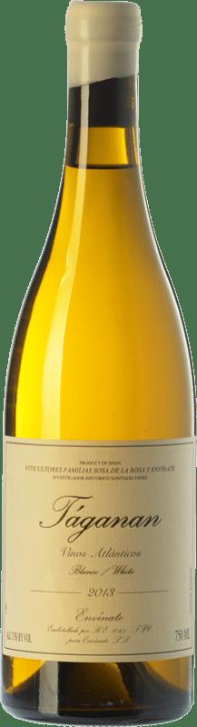15,95 € Envío gratis | Vino blanco Envínate Táganan Crianza España Malvasía, Marmajuelo, Albillo Criollo, Gual Botella 75 cl