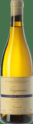 19,95 € Envío gratis | Vino blanco Envínate Táganan Parcela Amogoje Crianza España Malvasía, Listán Blanco, Marmajuelo, Albillo Criollo, Gual Botella 75 cl