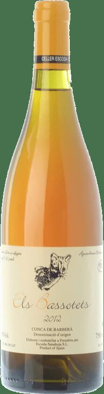 18,95 € Free Shipping | White wine Escoda Sanahuja Els Bassotets D.O. Conca de Barberà Catalonia Spain Chenin White Bottle 75 cl