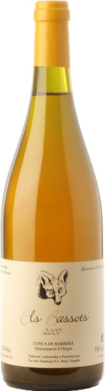 18,95 € Free Shipping | White wine Escoda Sanahuja Els Bassots Crianza D.O. Conca de Barberà Catalonia Spain Chenin White Bottle 75 cl