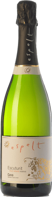 8,95 € Envoi gratuit | Blanc moussant Espelt Escuturit Brut Nature Reserva D.O. Cava Catalogne Espagne Macabeo, Xarel·lo, Chardonnay Bouteille 75 cl | Des milliers d'amateurs de vin nous font confiance avec la garantie du meilleur prix, une livraison toujours gratuite et des achats et retours sans complications.