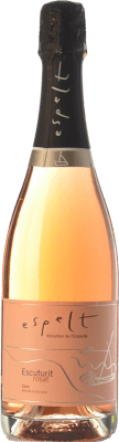 8,95 € Free Shipping | Rosé sparkling Espelt Escuturit Rose Brut Reserva D.O. Cava Catalonia Spain Monastrell Bottle 75 cl | Thousands of wine lovers trust us to get the best price guarantee, free shipping always and hassle-free shopping and returns.