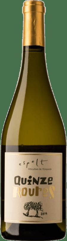 13,95 € Free Shipping   White wine Espelt Quinze Roures Crianza D.O. Empordà Catalonia Spain Grenache White, Grenache Grey Bottle 75 cl