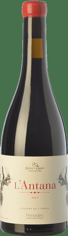 12,95 € Envoi gratuit | Vin rouge Esteve i Gibert L'Antana Crianza D.O. Penedès Catalogne Espagne Merlot Bouteille 75 cl