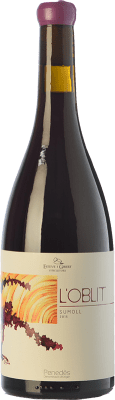 24,95 € Free Shipping | Red wine Esteve i Gibert L'Oblit Joven D.O. Penedès Catalonia Spain Sumoll Bottle 75 cl
