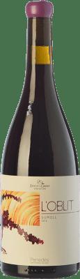 16,95 € Envío gratis | Vino tinto Esteve i Gibert L'Oblit Joven D.O. Penedès Cataluña España Sumoll Botella 75 cl