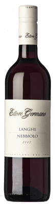 16,95 € Free Shipping | Red wine Ettore Germano D.O.C. Langhe Piemonte Italy Nebbiolo Bottle 75 cl