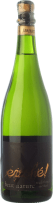9,95 € Free Shipping | White sparkling Evohé X Brut Nature Reserva D.O. Cava Catalonia Spain Xarel·lo, Chardonnay, Parellada Bottle 75 cl