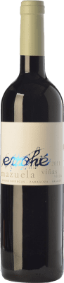6,95 € Free Shipping | Red wine Evohé Joven I.G.P. Vino de la Tierra Bajo Aragón Aragon Spain Mazuelo Bottle 75 cl